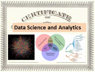 Certificates in  Analytics, Data Mining, and Data Science