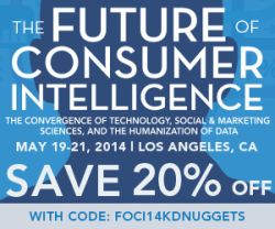 Future of Consumer Intelligence, May 19-21, California