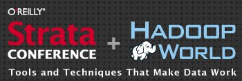 Strata Conference + Hadoop World, New York, Oct 15-17, 2014