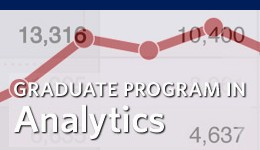 MS in Analytics from the University of San Francisco